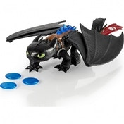 Ex-Display Blast and Roar Toothless (How to Train Your Dragon) Action Figure Used - Like New
