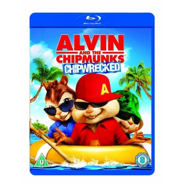 Alvin and the Chipmunks Chipwrecked Blu-ray