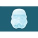 Stormtrooper (Star Wars) Silicone Ice Cube Tray - Image 2