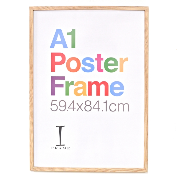 iFrame Wood Finish Poster Frame A1