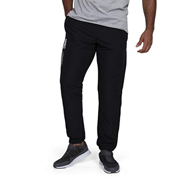 Canterbury Men's Cuffed Stadium Pant Tracksuit Bottoms, Black, 2X-Large (38-40 inches)