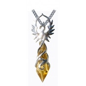 Anne Stokes Crystal Keepers Phoenix Flame