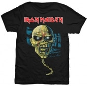 Iron Maiden Piece of Mind Skull Blk T Shirt: XXL