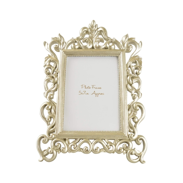"""Ornate Large Photo frame in Champagne 5x7"""""""