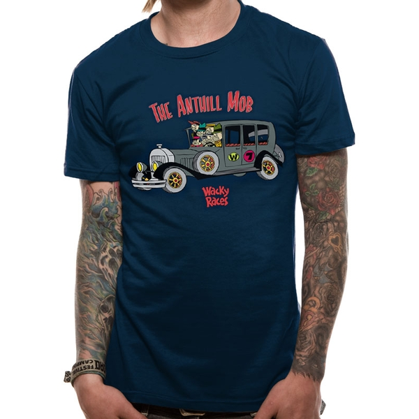 Wacky Races - Anthill Mob Men's Small T-Shirt - Black