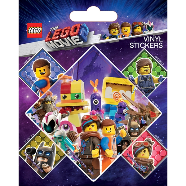 The Lego Movie 2 - Let's Stick Together Vinyl Sticker