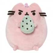 Pusheen Cotton Candy Standing with Egg Soft Toy