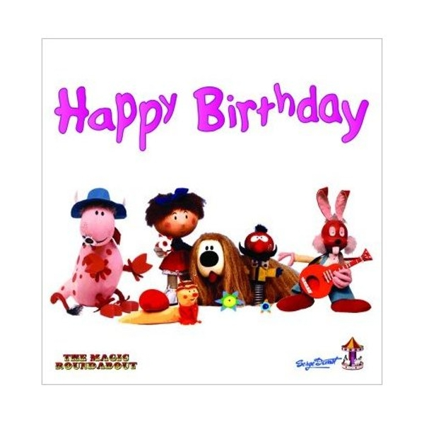 Magic Roundabout - Characters Greetings Card