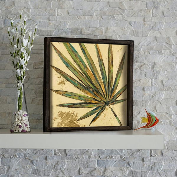 KZM431 Multicolor Decorative Framed MDF Painting