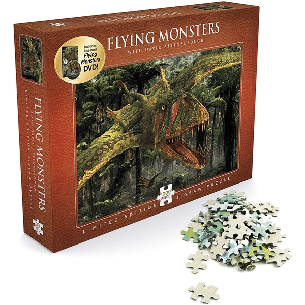 Flying Monsters with David Attenborough Jigsaw (1,000 Pieces)
