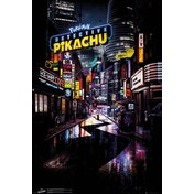 Detective Pikachu Teaser Maxi Poster