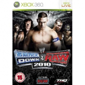 WWE Smackdown VS Raw 2010 Game Xbox 360