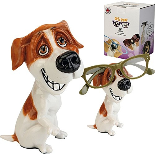 Arora 8037 Optipaws Jack Russell Dog Eye Glasses Holder, Multicolour, One Size