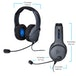 PDP LVL50 Wired Stereo Headset Grey for PS4 - Image 2