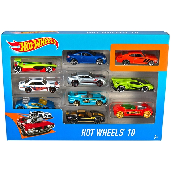 Hot Wheels 10 Car Gift Pack