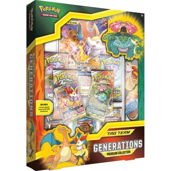 Pokemon TCG TAG Team Generations Premium Collection