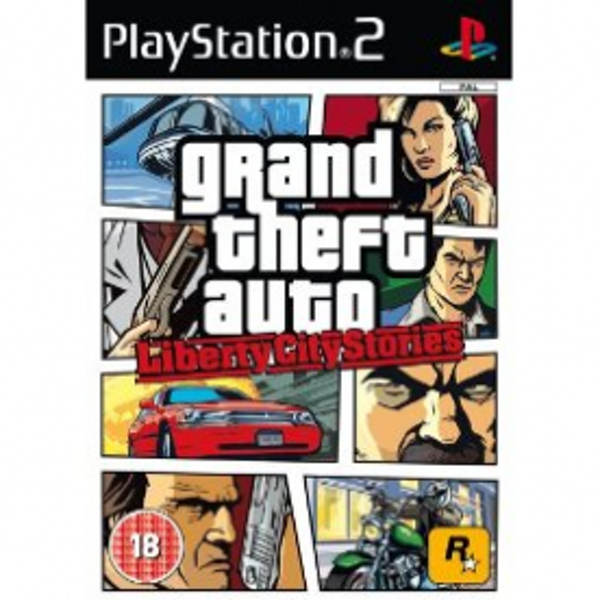 Grand Theft Auto GTA Liberty City Stories Game PS2