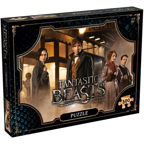 Fantastic Beasts And Where To Find Them Jigsaw Puzzle - 500 Pieces