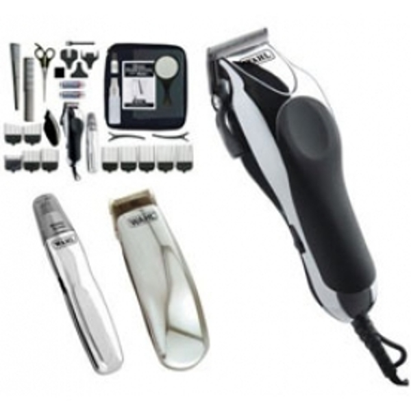 Wahl Deluxe ChromePro Complete Haircutting Kit UK Plug