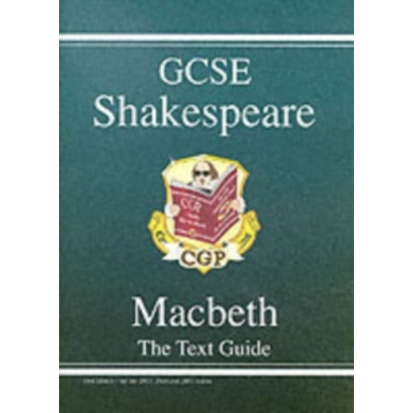 GCSE English Shakespeare Text Guide - Macbeth by CGP Books (Paperback, 2002) by CGP Books,