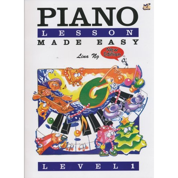 Piano Lessons Made Easy Level 1  2004 Sheet music