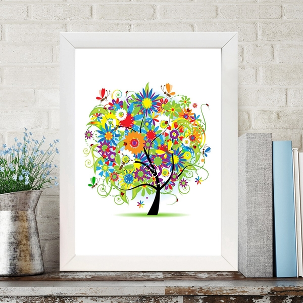 BC1045095 Multicolor Decorative Framed MDF Painting