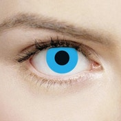 Zombie Blue 1 Day Halloween Coloured Contact Lenses (MesmerEyez XtremeEyez)