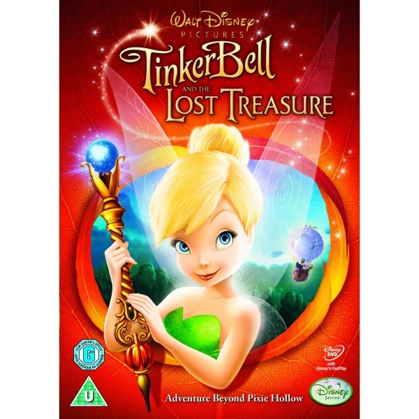 Tinker Bell & The Lost Treasure DVD