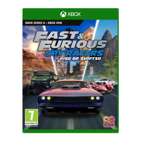 Fast & Furious Spy Racers Rise of SH1FT3R Xbox One   Series X Game