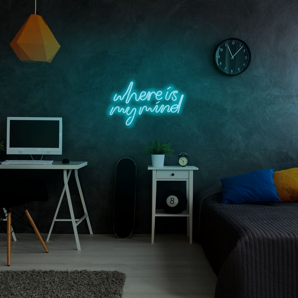 Where Is My Mind - Blue Blue Wall Lamp