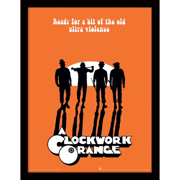 A Clockwork Orange - Ultra Violence Framed 30 x 40cm Print