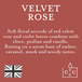 Velvet Rose (Pastel Collection) Glass Candle - Image 3
