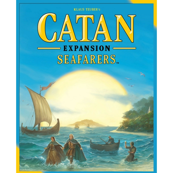 Catan Seafarers Expansion (2015 Edition) Board Game