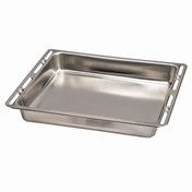 Xavax Baking/Oven Tray, stainless steel, 46.5 cm