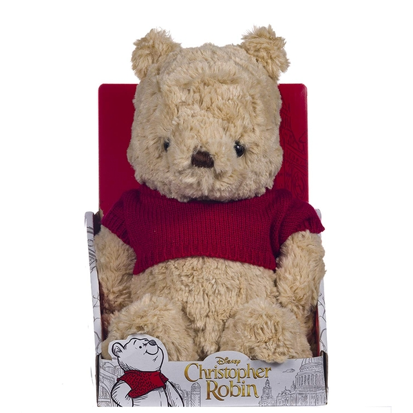 Disney Christopher Robin Collection Winnie the Pooh 10 Inch Soft Toy