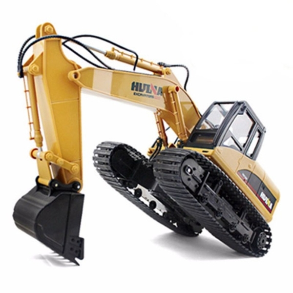 HUINA 1/14th 15 Channel 2.4G Excavator with Die Cast Bucket