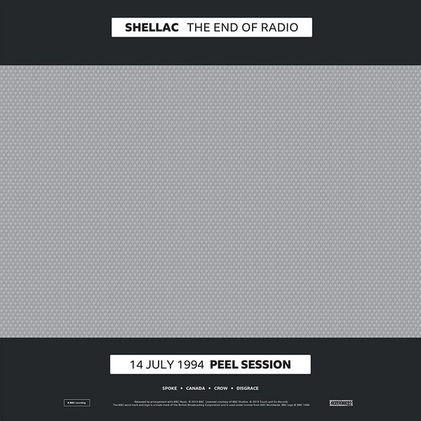 Shellac ‎– The End Of Radio (14 July 1994 Peel Session/1 December 2004 Peel Session) Vinyl