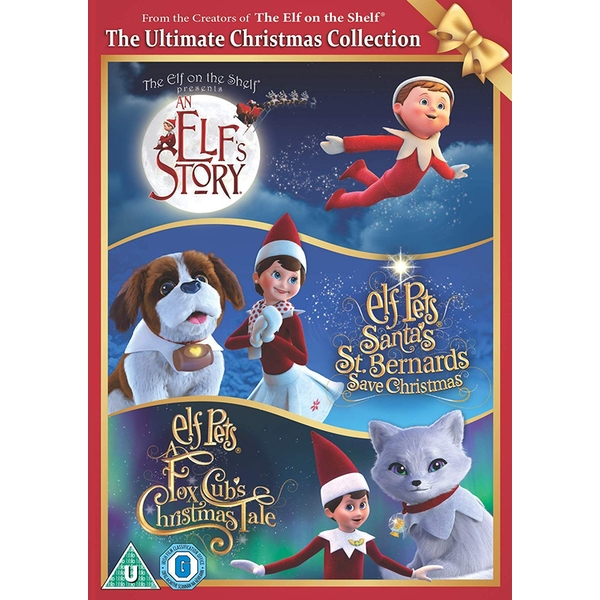 The Elf On The Shelf: The Ultimate Christmas Collection DVD