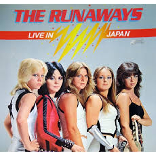 The Runaways - Live In Japan Red Vinyl