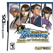 Phoenix Wright Ace Attorney 3 Trials & Tribulations Game DS