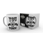 Let There Be Gin - You Are The Gin To My Tonic Mug