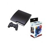 320GB SLIM Console System Black + Move Starter Pack 2 PS3