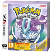 Pokemon Crystal (Download Code) 3DS Game