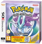Pokemon Crystal (Packaged Download Code) 3DS Game