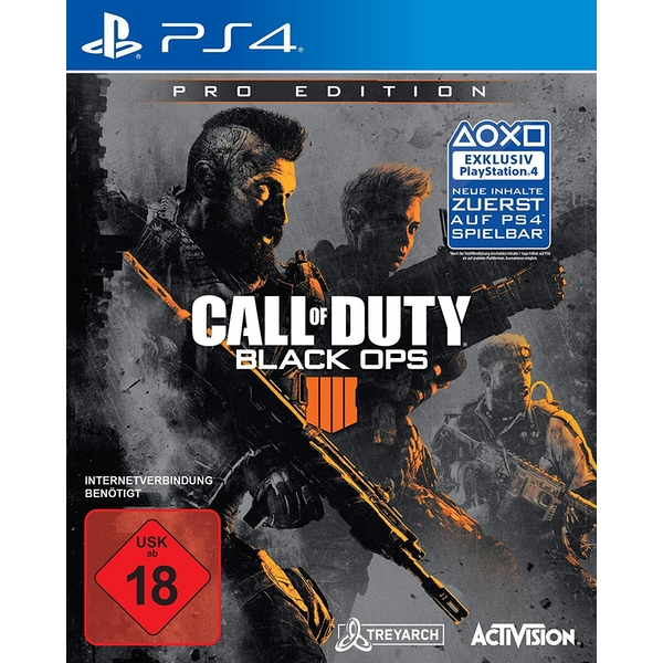 Call of Duty Black Ops 4 Pro Edition PS4 Game [German Version]