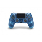 Ex-Display New Sony Dualshock 4 V2 Translucent Blue Crystal Controller PS4 Used - Like New