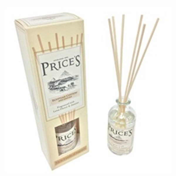 Price's Candles Hertiage Diffuser Egyptian Cotton
