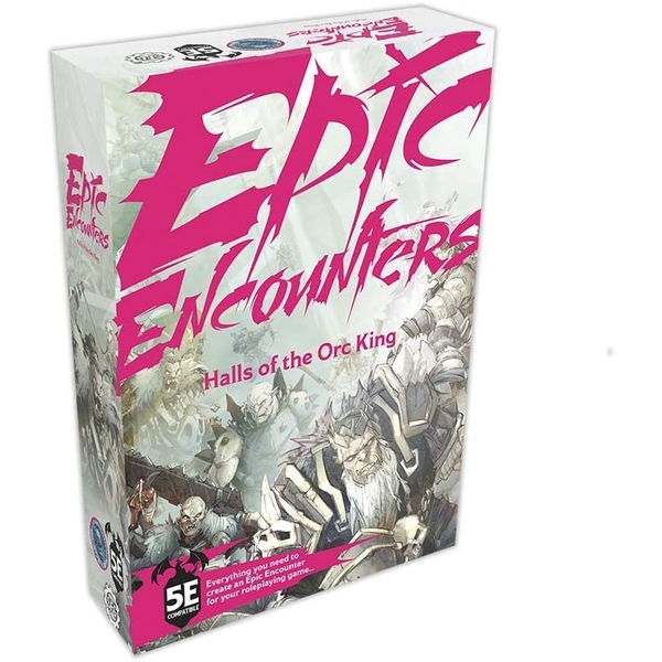 Epic Encounters RPG - Hall of the Orc King