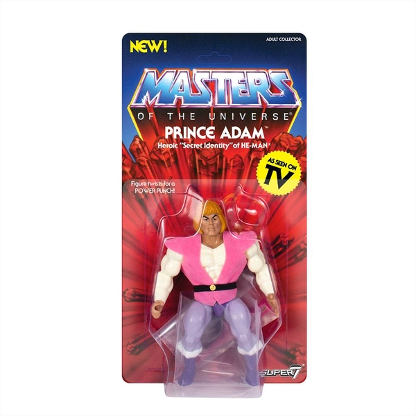 Masters of the Universe Vintage Collection Action Figure Wave 3 Prince Adam 14 cm