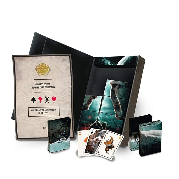 Image of Harry Potter Limited Edition Playing Cards Collectors Set